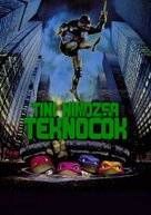 Teenage Mutant Ninja Turtles - Hungarian Movie Poster (xs thumbnail)