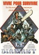 Vivre pour survivre - French Movie Poster (xs thumbnail)