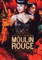 Moulin Rouge - Portuguese Movie Cover (xs thumbnail)