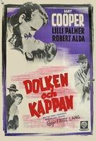 Cloak and Dagger - Swedish Movie Poster (xs thumbnail)