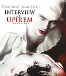 Interview With The Vampire - Czech Blu-Ray movie cover (xs thumbnail)