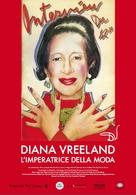 Diana Vreeland: The Eye Has to Travel - Italian Movie Poster (xs thumbnail)