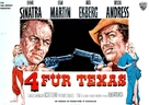 4 for Texas - German Movie Poster (xs thumbnail)