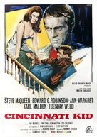 The Cincinnati Kid - Italian Movie Poster (xs thumbnail)