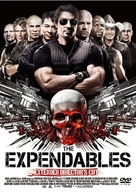 The Expendables - Japanese DVD movie cover (xs thumbnail)