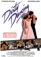 Dirty Dancing - German Movie Poster (xs thumbnail)