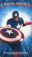 Captain America - VHS movie cover (xs thumbnail)