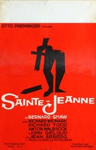 Saint Joan - Belgian Movie Poster (xs thumbnail)