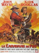 The War Wagon - French Movie Poster (xs thumbnail)