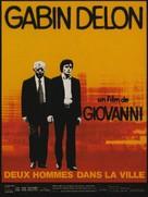 Deux hommes dans la ville - French Movie Poster (xs thumbnail)