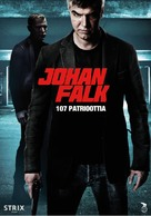 Johan Falk: De 107 patrioterna - Finnish Movie Poster (xs thumbnail)