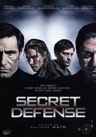 Secret défense - French DVD cover (xs thumbnail)