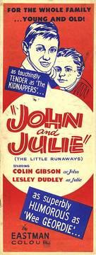 John and Julie - British Movie Poster (xs thumbnail)