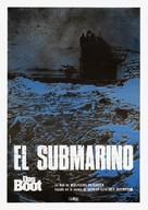 Das Boot - Spanish Movie Poster (xs thumbnail)