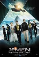 X-Men: First Class - Polish Movie Poster (xs thumbnail)