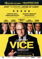 Vice - Polish Movie Poster (xs thumbnail)