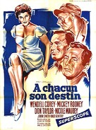 The Bold and the Brave - French Movie Poster (xs thumbnail)
