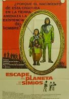 Escape from the Planet of the Apes - Argentinian Movie Poster (xs thumbnail)