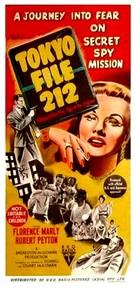 Tokyo File 212 - Australian Movie Poster (xs thumbnail)
