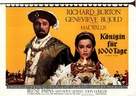 Anne of the Thousand Days - German Movie Poster (xs thumbnail)