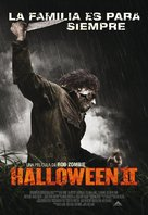 Halloween II - Mexican Movie Poster (xs thumbnail)