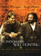 Good Will Hunting - Spanish Movie Poster (xs thumbnail)