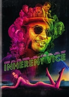 Inherent Vice - DVD cover (xs thumbnail)