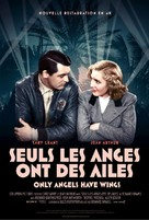Only Angels Have Wings - French Re-release movie poster (xs thumbnail)