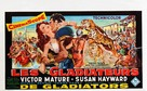 Demetrius and the Gladiators - Belgian Movie Poster (xs thumbnail)