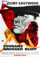 Coogan's Bluff - German Movie Poster (xs thumbnail)