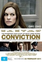 Conviction - Australian Movie Poster (xs thumbnail)