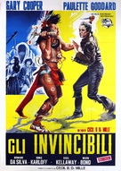 Unconquered - Italian Movie Poster (xs thumbnail)