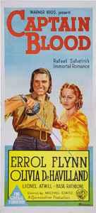 Captain Blood - Australian Movie Poster (xs thumbnail)