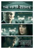 The Fifth Estate - Dutch Movie Poster (xs thumbnail)