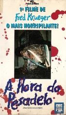 A Nightmare On Elm Street - Brazilian VHS cover (xs thumbnail)