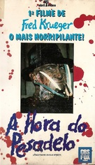 A Nightmare On Elm Street - Brazilian VHS movie cover (xs thumbnail)