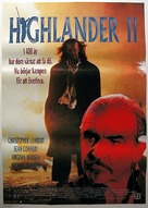 Highlander 2 - Swedish Movie Poster (xs thumbnail)