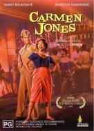 Carmen Jones - Australian DVD cover (xs thumbnail)