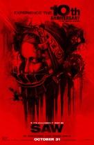Saw - Re-release poster (xs thumbnail)