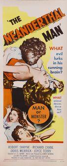 The Neanderthal Man - Movie Poster (xs thumbnail)