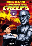 The Phantom Creeps - DVD cover (xs thumbnail)