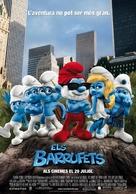 The Smurfs - Andorran Movie Poster (xs thumbnail)