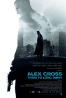 Alex Cross - Vietnamese Movie Poster (xs thumbnail)