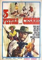 3 pistole contro Cesare - Italian Movie Poster (xs thumbnail)