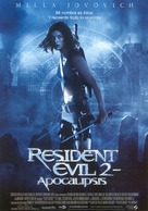Resident Evil: Apocalypse - Spanish Movie Poster (xs thumbnail)