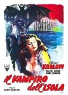 Isle of the Dead - Italian Movie Poster (xs thumbnail)