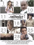 A Wednesday - Indian Movie Poster (xs thumbnail)