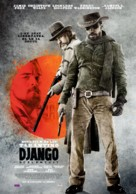 Django Unchained - Romanian Movie Poster (xs thumbnail)