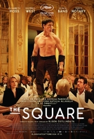 The Square - Finnish Movie Poster (xs thumbnail)
