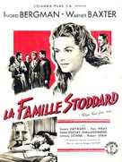 Adam Had Four Sons - French Movie Poster (xs thumbnail)